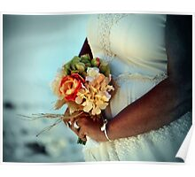 Bride's Bouquet Poster