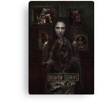 Bedlam Stories Novel Poster Canvas Print