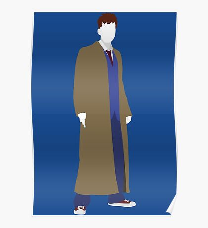 The Tenth Doctor - Doctor Who - David Tennant Poster