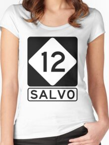 NC 12 - Salvo Women's Fitted Scoop T-Shirt