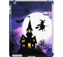 Scary Haunted House Happy Halloween iPad Case/Skin