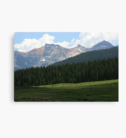 BEAUTY OF THE ROCKY MOUNTAINS Canvas Print