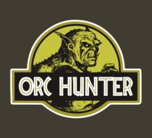 LOTR - Orc Hunter - Jurassic Park Logo Mashup by Immortalized