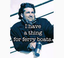 Derek Shepherd Ferry boats Unisex T-Shirt