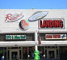 Roswell, New Mexico by Frank Romeo