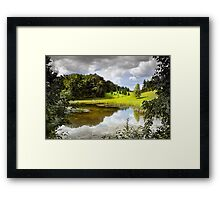 Noon On The Stage Framed Print