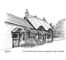 The Old Shop and Museum, Brighstone by Linda Marques