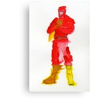 Condiment Man Canvas Print