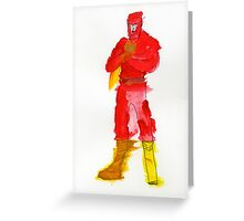Condiment Man Greeting Card