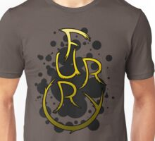 Furry shirt - Yellow/Gold Unisex T-Shirt