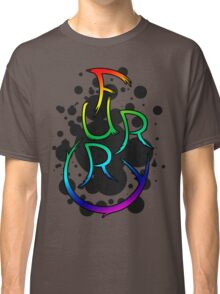 Furry shirt - Rainbow Classic T-Shirt