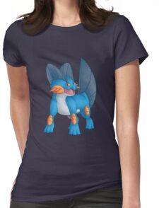 Swampert Womens Fitted T-Shirt