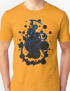 Furry shirt - Blue Outline T-Shirt