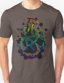 Furry shirt - Rainbow Outline T-Shirt