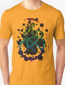 Furry shirt - Rainbow Outline T-Shirt