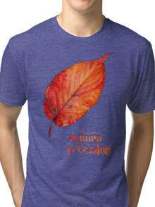 Autumn is Coming Tri-blend T-Shirt