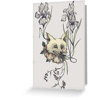 Foxy Headshot Greeting Card