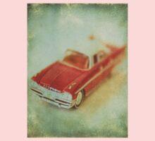 Vintage Cherry Red Chrysler De Soto Kids Clothes