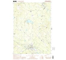 USGS TOPO Map New Hampshire NH Farmington 329560 2000 24000 Photographic Print