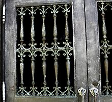 Cemetery door 5 by Kelly Morris