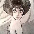Clara Bow Caricature by loflor73