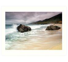 Garrapata Beach, CA Art Print