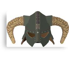 Iron Helmet Canvas Print