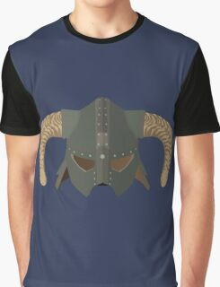 Iron Helmet Graphic T-Shirt