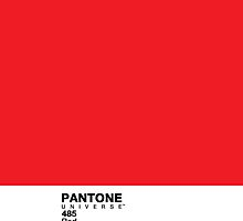 Pantone: Red by coffeespoon