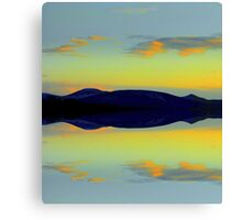 noth'in but blue sky Canvas Print