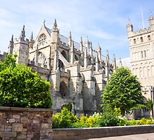 exeter cathedral by Anne Scantlebury