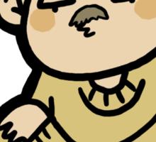 Creepstache Sticker