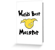Soul Eater Best Meister Greeting Card