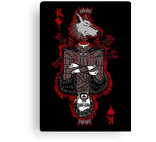 King of the North (reverse) Canvas Print