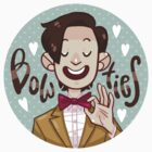 Bow Ties <3 STICKER by nowaitwhat