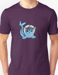 Peeking Vaporeon T-Shirt