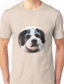 Black and White Dog Unisex T-Shirt