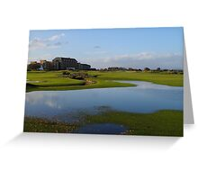 The Old Course in Autumn Greeting Card