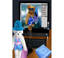 (????) BEARS SURFING THE INTERNET IPHONE CASE (????) by ✿✿ Bonita ✿✿ ђєℓℓσ