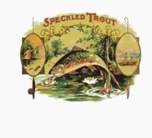 Speckeled Trout Vintage Cigar Advertisment by marceejean