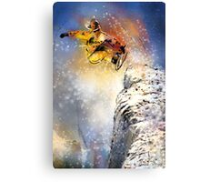 Snow Boarding 01 Canvas Print