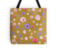 Mixture of Roses and Other Flowers Tote Bag