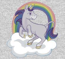Rainbow Unicorn One Piece - Long Sleeve