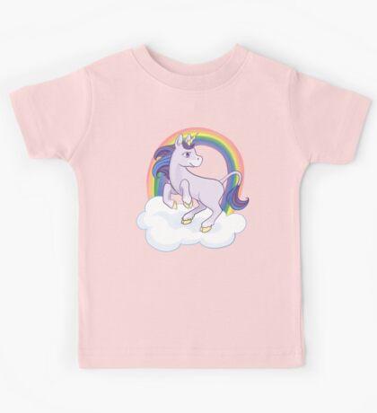Rainbow Unicorn Kids Tee