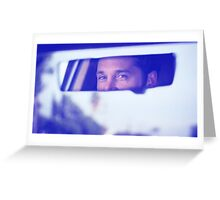 Derek Shepherd's eyes Greeting Card