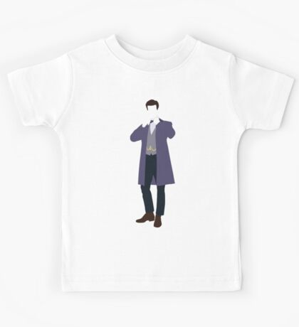 The Eleventh Doctor - Doctor Who - Matt Smith Kids Tee