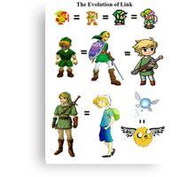 Link's Past Canvas Print