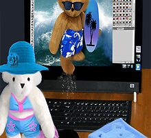 (????) BEARS SURFING THE INTERNET PICTURE/CARD (????)  by ✿✿ Bonita ✿✿ ђєℓℓσ