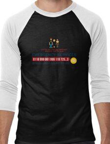 IT Crowd - Emergency Services Men's Baseball ¾ T-Shirt