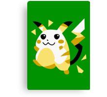 Retro Pikachu Canvas Print